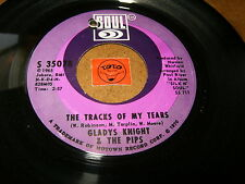 GLADYS KNIGHT & THE PIPS - THE TRACKS OF MY TEARS - IF  / LISTEN - TAMLA MOTOWN