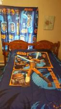 Star Wars Full Size Comforter, Sheet Set, 2 Pairs Curtains With Tiebacks, Pillow