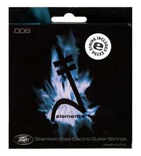 PEAVEY ELEMENTS STAINLESS STEEL 8'S GUITAR STRINGS + EXTRA E STRING