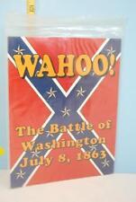 Wahoo The Battle of Washington July 8 1863 XTR Corp. 1991 Unpunched