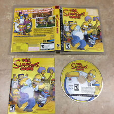 The Simpsons Game Sony PlayStation 3 PS3 #BLUS-30065 Complete CIB