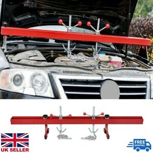 Heavy Engine support double beam bar stand motor traverse lifter gearbox 500kg