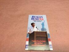 Original Reagan Bush '84 Pamphlet
