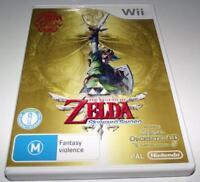 The Legend of Zelda Skyward Sword Nintendo Wii PAL *Complete* Wii U Compatible
