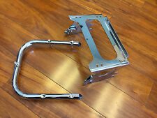 USED Detachable Two-Up Tour Pack Mounting Rack with Support Bar - Harley Touring