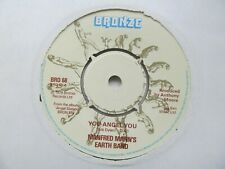 "MANFRED MANN'S EARTH BAND You Angel You/Out In The Distance 7"" Single EX Cond"
