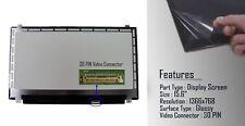 """Laptop LP156WHB-TPC2 TP C2 LED LCD Screen 15.6"""" Slim WXGA HD 30 pin eDP New"""