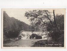 The Waterfall Monsal Dale [100] 1958 RP Postcard Zenith 241b