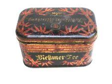 Alte Blechdose für 50 Gramm Meßmer Tee Jubiläums Mischung Teedose Frankfurt
