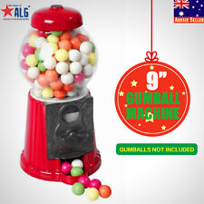 "9"" Coin-Operated Candy Gumball Vending Machine Toy Gift Sweet Snack Dispenser"