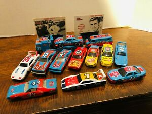 RICHARD PETTY; 15-Pc Lot of Loose 1:64 Diecast; w/ Cab Over with Van