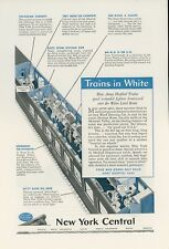 1944 New York Central Railway Ad Army Hospital Railway Car Medical Train WWII