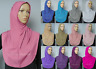 Muslim Women Girls One Piece Instant Slip on Pull on Amira Hijab Lycra 17 Colors