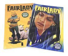 2 x LOT Fair Lady #1 A & B Variant Image Comics 2019 First 1st Print +/- NM/MT