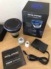 Square E-Head Portable Electronic Hookah Head Blue 2400 mAh.