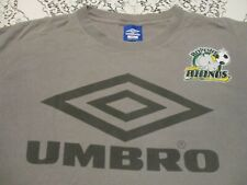 Umbro Crew T-Shirt Mens White Activewear Athleisure Top Tee Shirt XX-Small