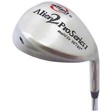 Alien Mens Pro 2 Sand Wedge Golf Club 56° 60° Multi Lie Steel Shaft Regular Flex
