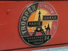 Isuzu Trooper Emblem Toolbox/Refrigerator Magnets. (L11)