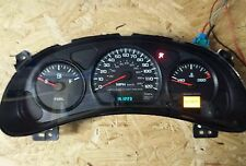 2000 2005 CHEVY IMPALA MONTE CARLO INSTRUMENT CLUSTER EXCHANGE W/O TACH 120MPH