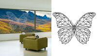 Sticker Autocollant Papillon - Insect -  Pour Fenetre Window - 1OR008
