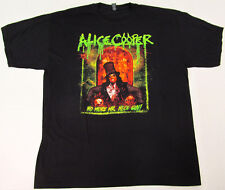 ALICE COOPER T-shirt North American Tour 2014 Tee Adult XL Black New
