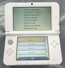 Nintendo 3DS XL Console White with Charger