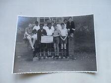 1963 MORA PRIMARY SCHOOL CRICKET TEAM PHOTOGRAPH CRICKLEWOOD LONDON NW2