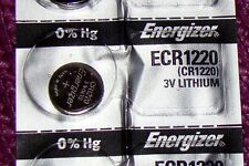 Volt Lithium Battery Factory Fresh! 1 Piece Energizer Cr1220 3