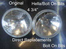 """4 ¾"""" 2 Inner Headlamp/headlights Morette light/lamp WORLD EXCLUSIVE nowhere else"""