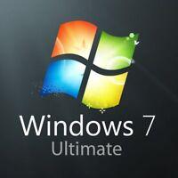 WINDOWS 7 - Ultimate SP1 32/64Bit  Install / Reinstall / Repair / Recover DVD
