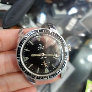 Vintage YEMA Junior 330 feet Diving Watch, Old Yema Collection Men's Wrist Watch