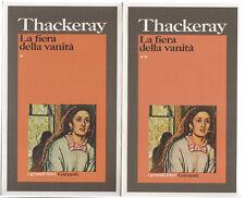 William M. Thackeray LA FIERA DELLA VANITÀ 2 volumi ed. i grandi libri Garzanti