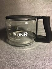 Bunn Coffee Carafe Replacement 10 Cup pot Glass Drip Free-Glass-Black