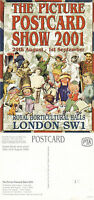 2001 THE PICTURE POSTCARD SHOW ADVERTISING UNUSED COLOUR POSTCARD