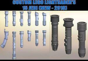 CUSTOM Star Wars Lightsaber Jedi X15 (RUSKO BUT COMPATIBLE LlEGO )