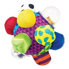 Pelota Con Sonajero Para El Desarrollo Sensorial Del Bebé Bola De Actividades