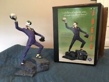 The Joker statue by William Paquet, 1995.  2,537 of 4,650