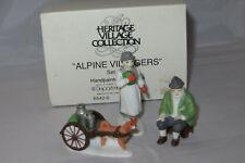 """Alpine Villagers"" Dept. 56 Alpine Village Accessory 65420 - Mib"