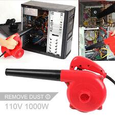 1000W Corded Handheld Electric Leaf Blower Vacuum Dust Leaf Cleaner Sweeper Tool