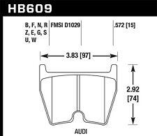 HB609B.572 Hawk 08-11 fits Audi R8/07-08 Rs4/03-04 Rs6 / 02-03 Vw Phaeton Hps