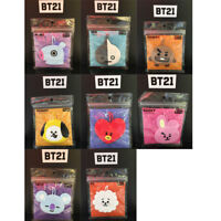BT21 Official Authentic Goods Luggage Tag CHIMMY KOYA COOKY TATA RJ SHOOKY Etc
