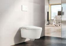 Roca Inspira In-Wash® Wand Smart Dusch-WC, Dusch-Funktion, spülrandlos