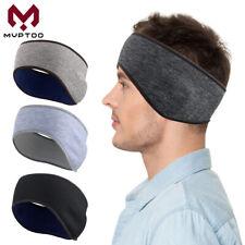 Winter Fleece Earband Ear Warmer Sports Ski Headwrap Ear Muffs Stretchy Headband