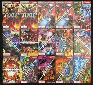 Avengers & X-Men Axis #1-9, Revolutions #1-4 (Marvel 2014) lot/run of 15 Avg. NM