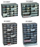 MULTI STORAGE DRAWER CABINET UNIT NAIL SCREW CRAFT BITS ORGANISER HOME GARAGE