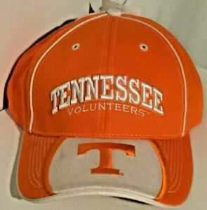 NWT New Tennessee Volunteers Embroidered NCAA SEC College Team Colors Cap Hat