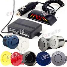 Funk Wireless Einparkhilfe Rückfahrwarner 4 Sensoren zum Nachrüsten 9 Farben