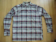 DEADSTOCK 50s ARROW Silk Fleck Shadow Plaid Ricky Loop Collar Shirt Rockabilly