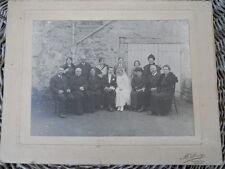 Ancienne grande photo de Mariage , Cluny