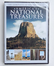 America's National Treasures 12-part documentary 2 DVDs Monuments Parks history